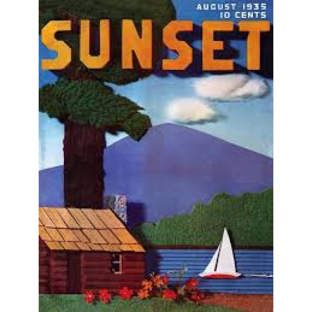 Sunset Puzzle 1000 Piece Cabin Collage