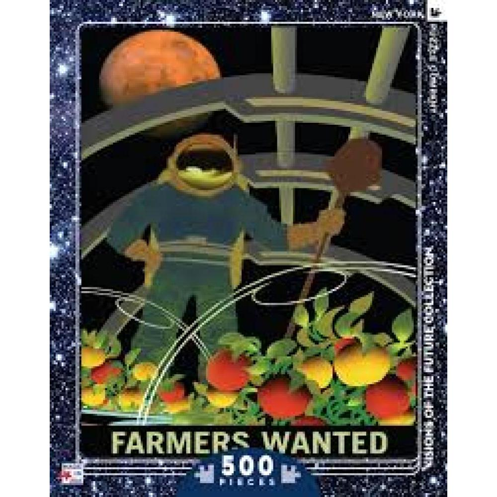 Visions Of The Future Puzzle 500 Piece Farmers Wanted