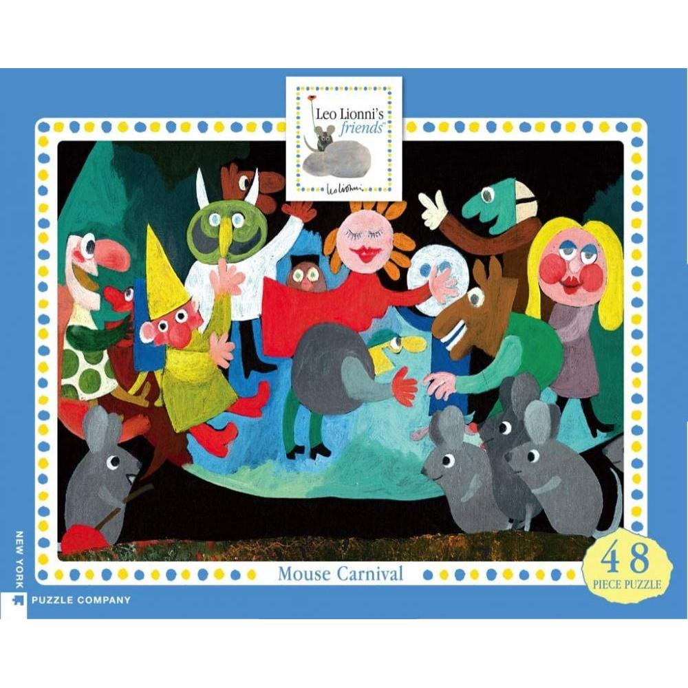 Leo Lionni Collection Puzzle 48 Piece Mouse Carnival