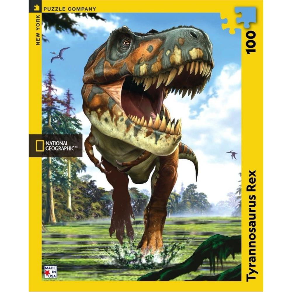 National Geographic Puzzle 200 Piece Tyrannosaurus Rex