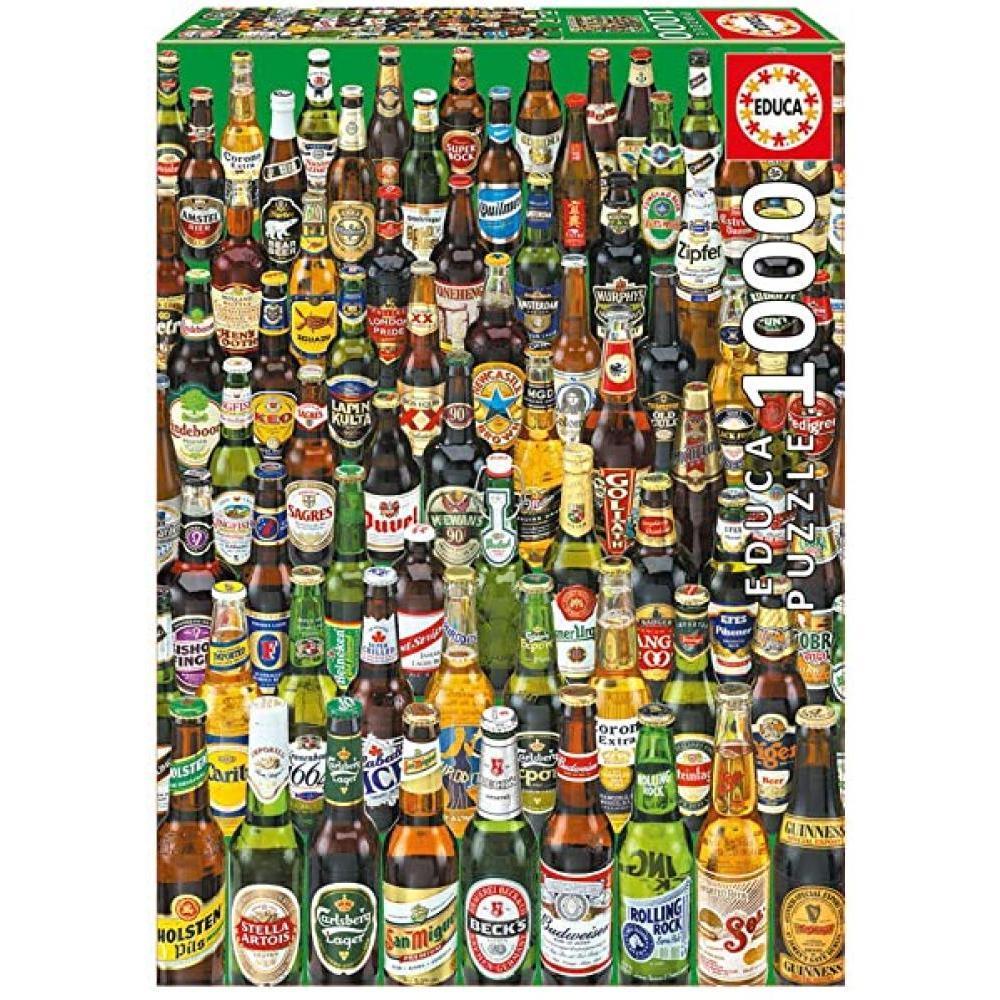 Educa Puzzle 1000 Piece Beers
