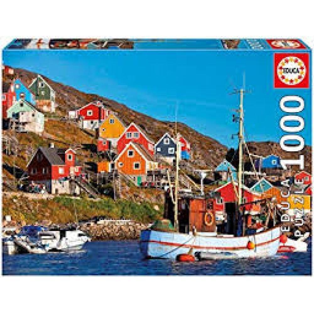 Educa Puzzle 1000 Piece Nordic Houses