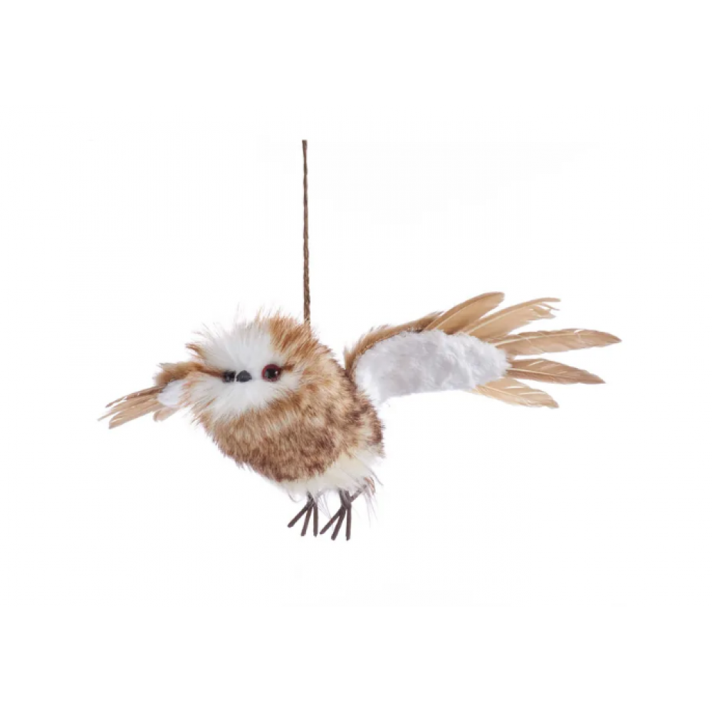 Ornament - Flying Owl 13.78in