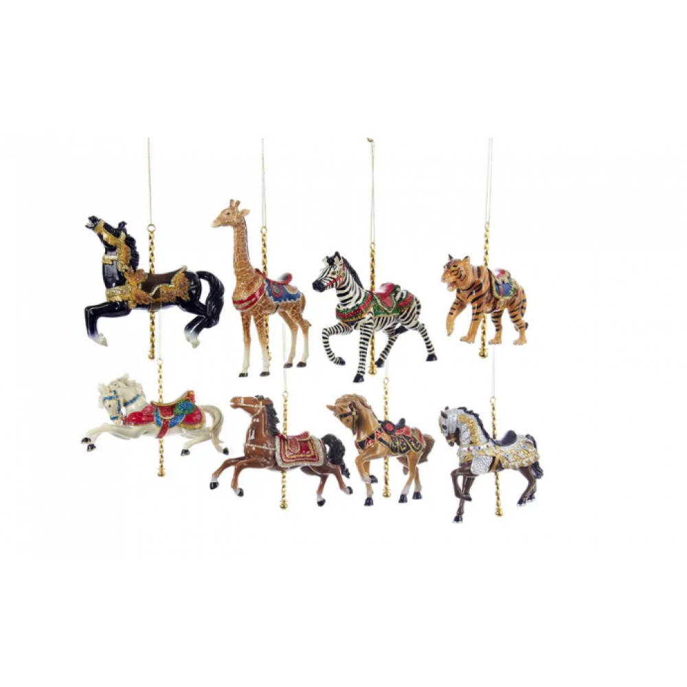 Ornament - Carrousel 5in