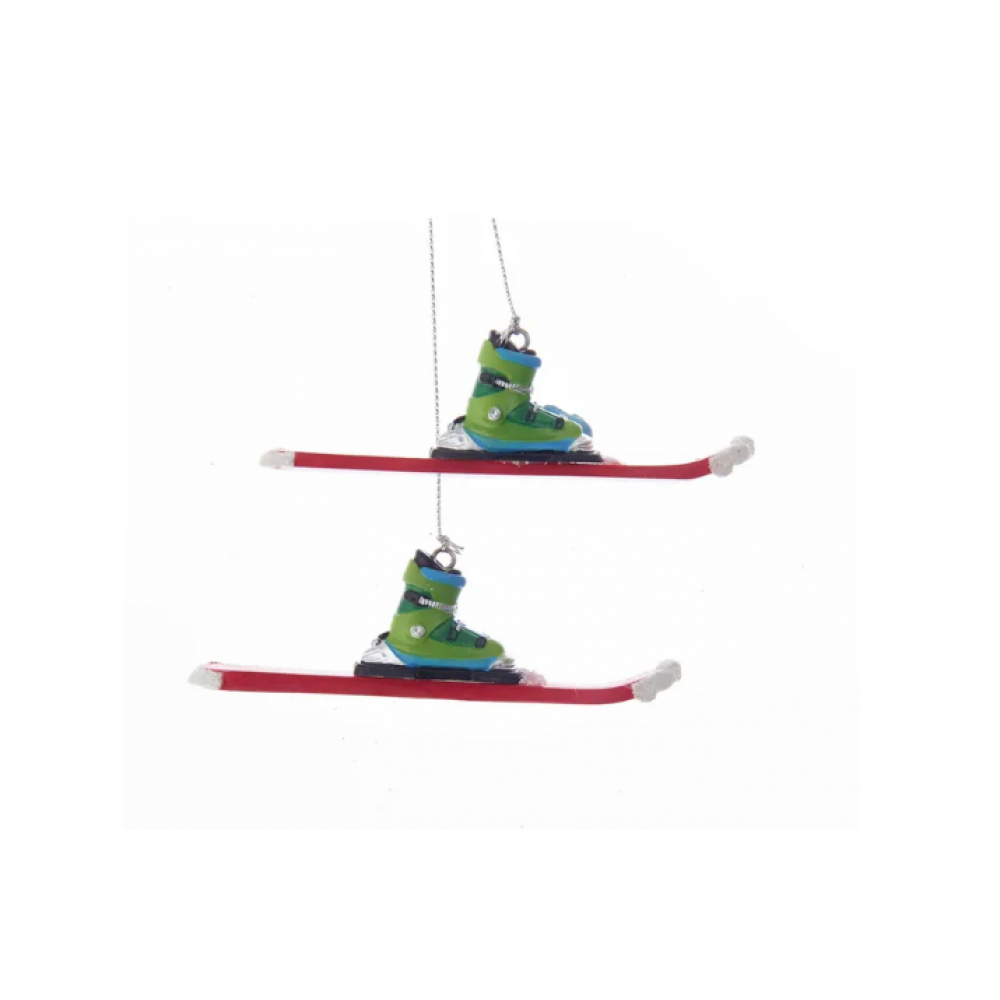 Ornament - Skis & Boots