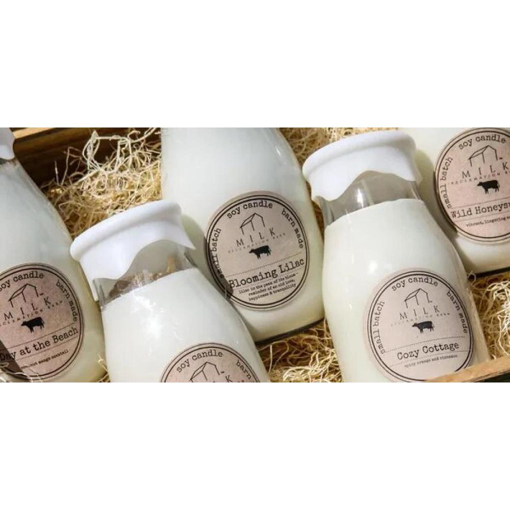 Milk Bottle 13oz Barn Dance
