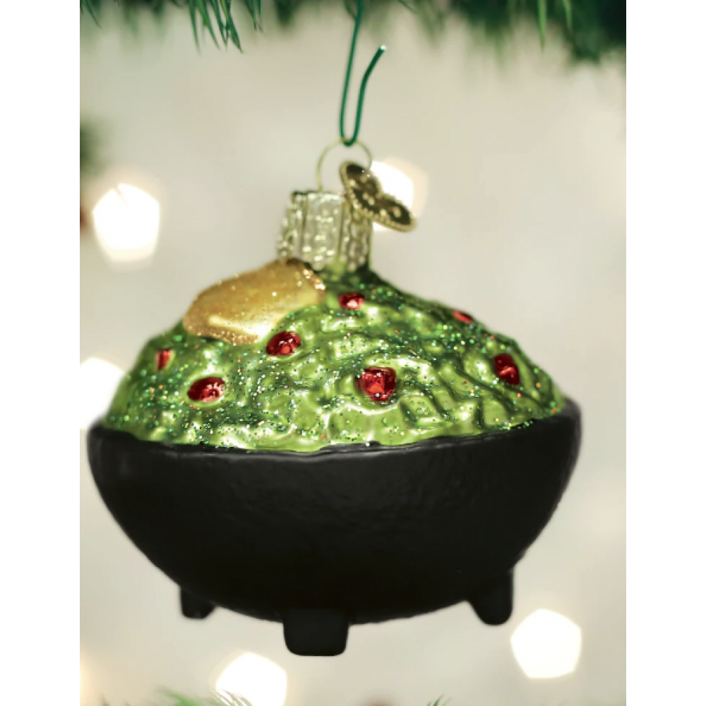 Christmas Ornament Guacamole