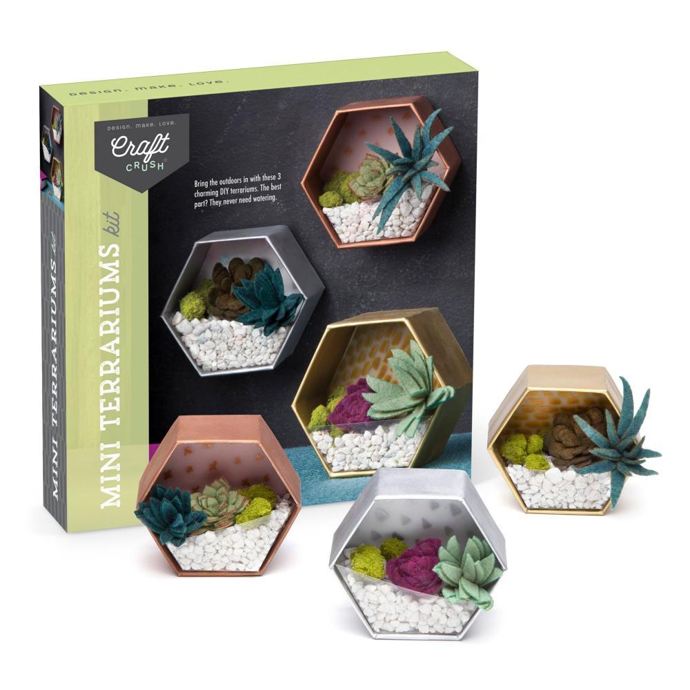 Craft Crush Mini Terrariums