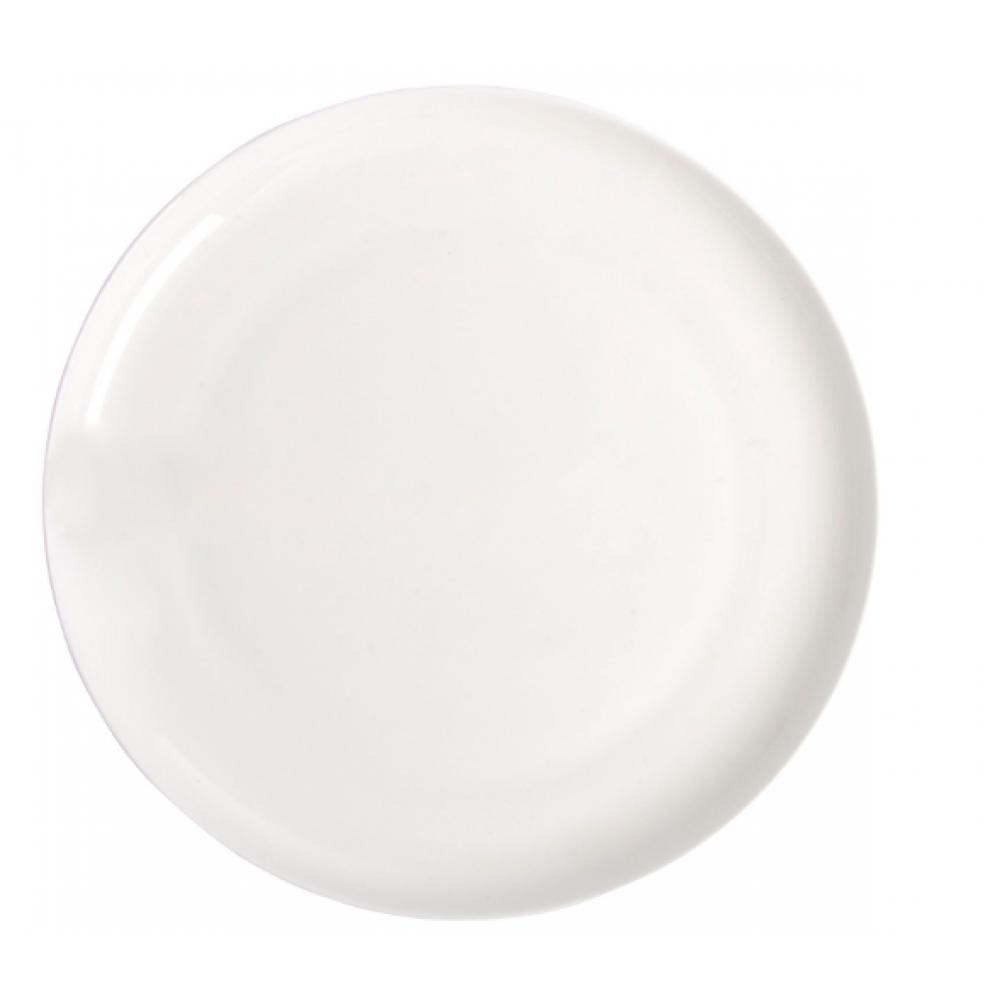 Stratford Place Fine bone china white salad plate