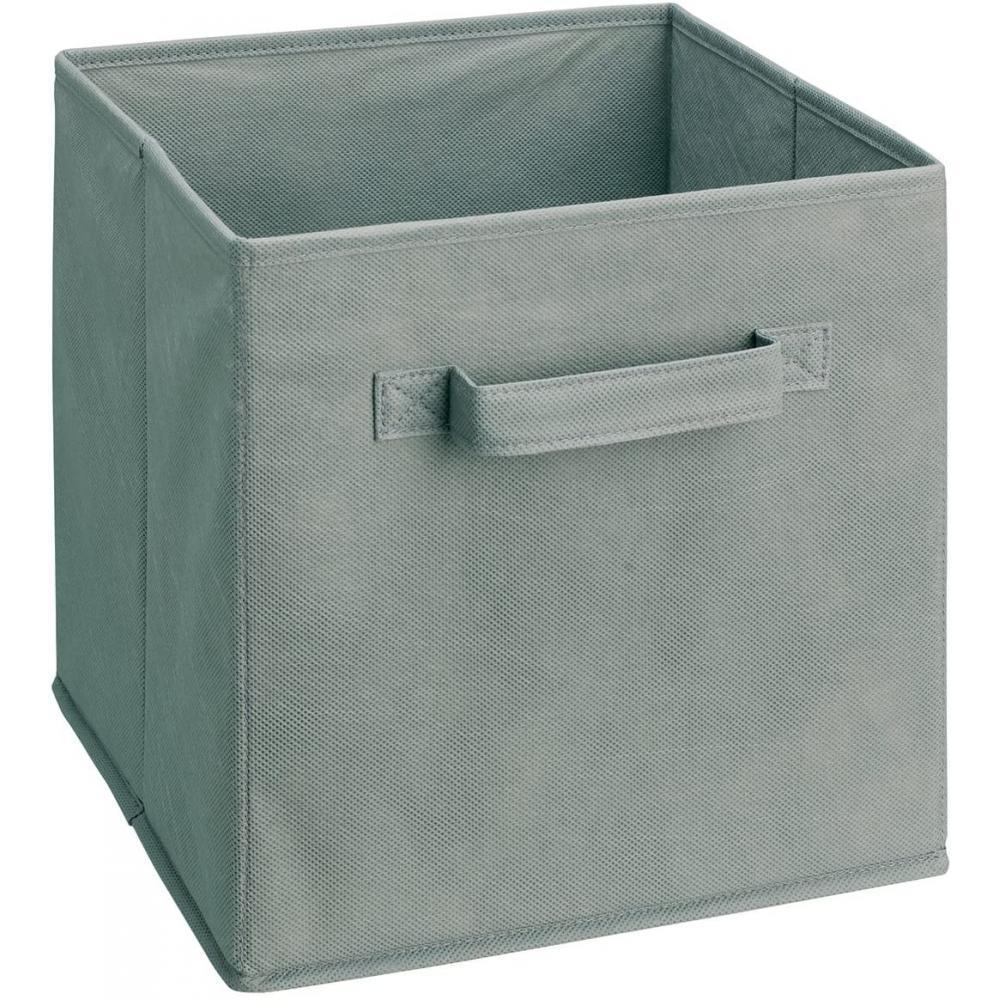 Storage Bin Grey 11x11x11