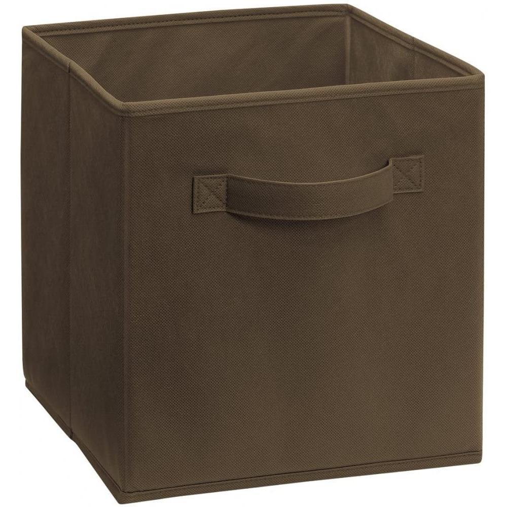 Storage Bin Chocolate 11x11x11