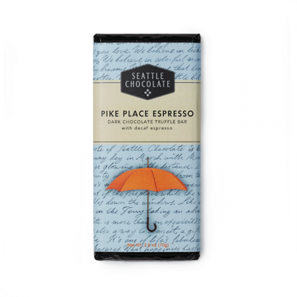 Chocolate Bar - Pike Place Espresso (Vegan and Gluten Free)
