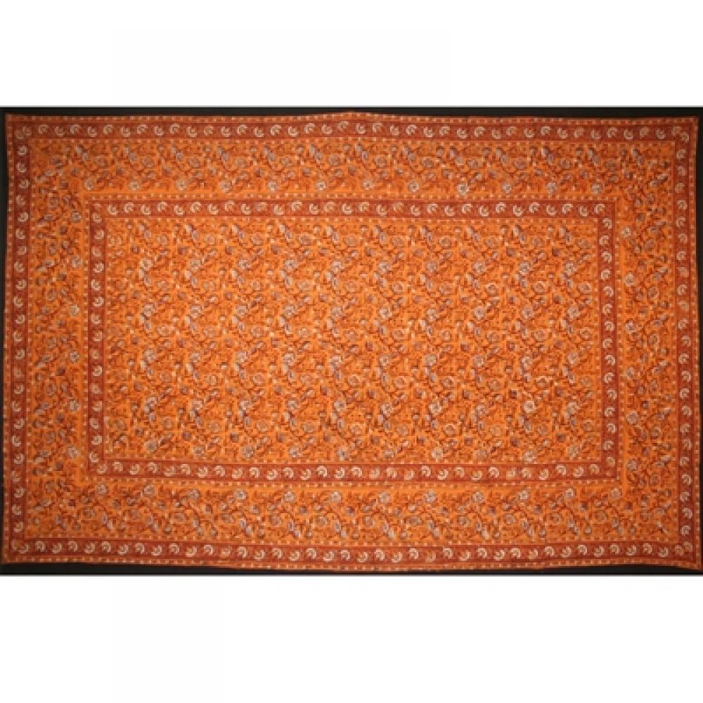 Tapestry Twin Size Earth Dabu Gold Red