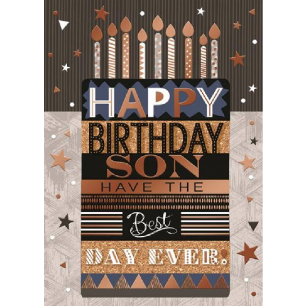 Birthday - Son Cake