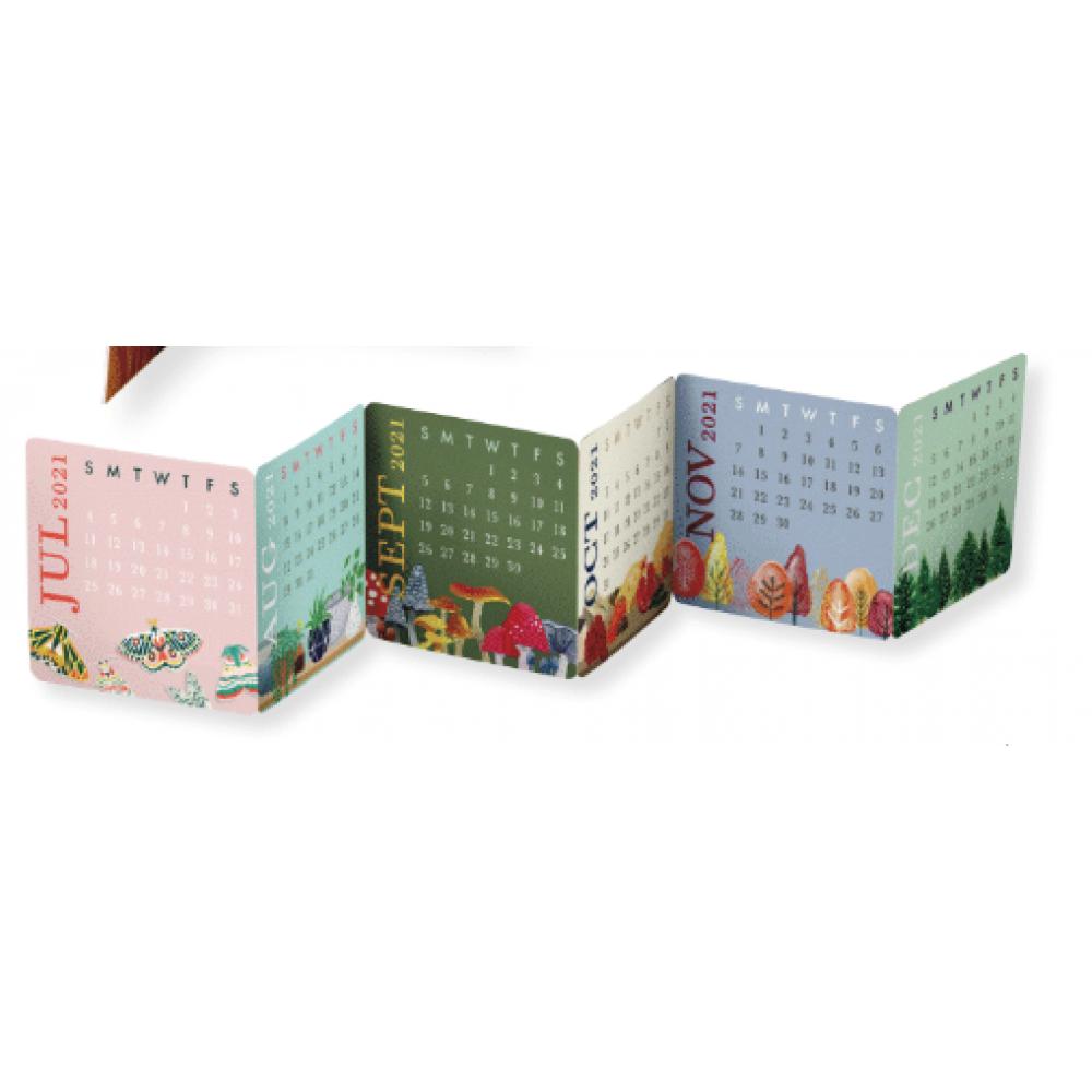 Calendar - Mini Accordion