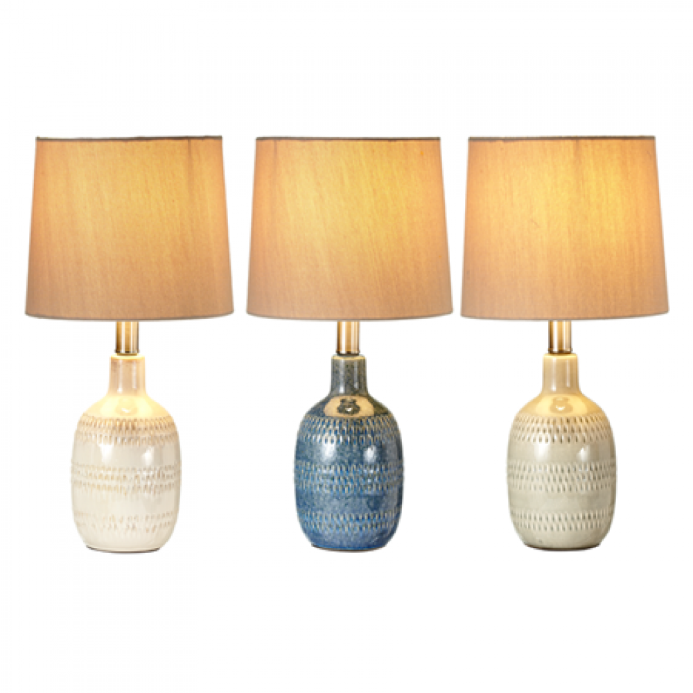 Accent Lamp - Translucent Glaze, Asst.