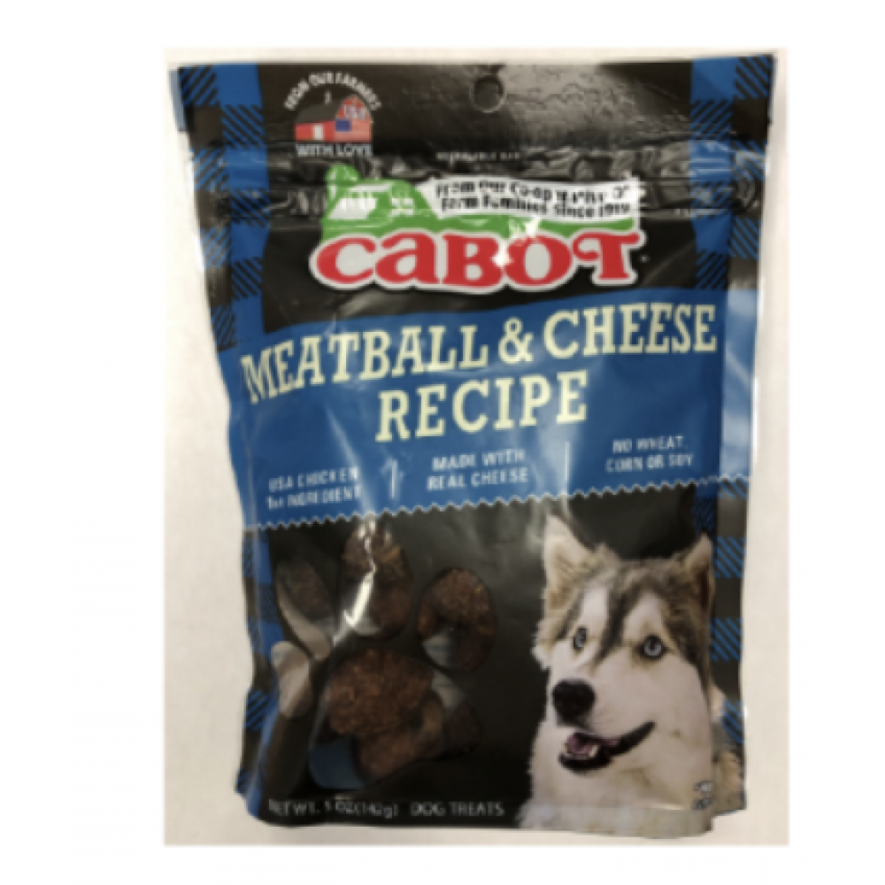 Dog Treat Cabot Meatball & Cheese