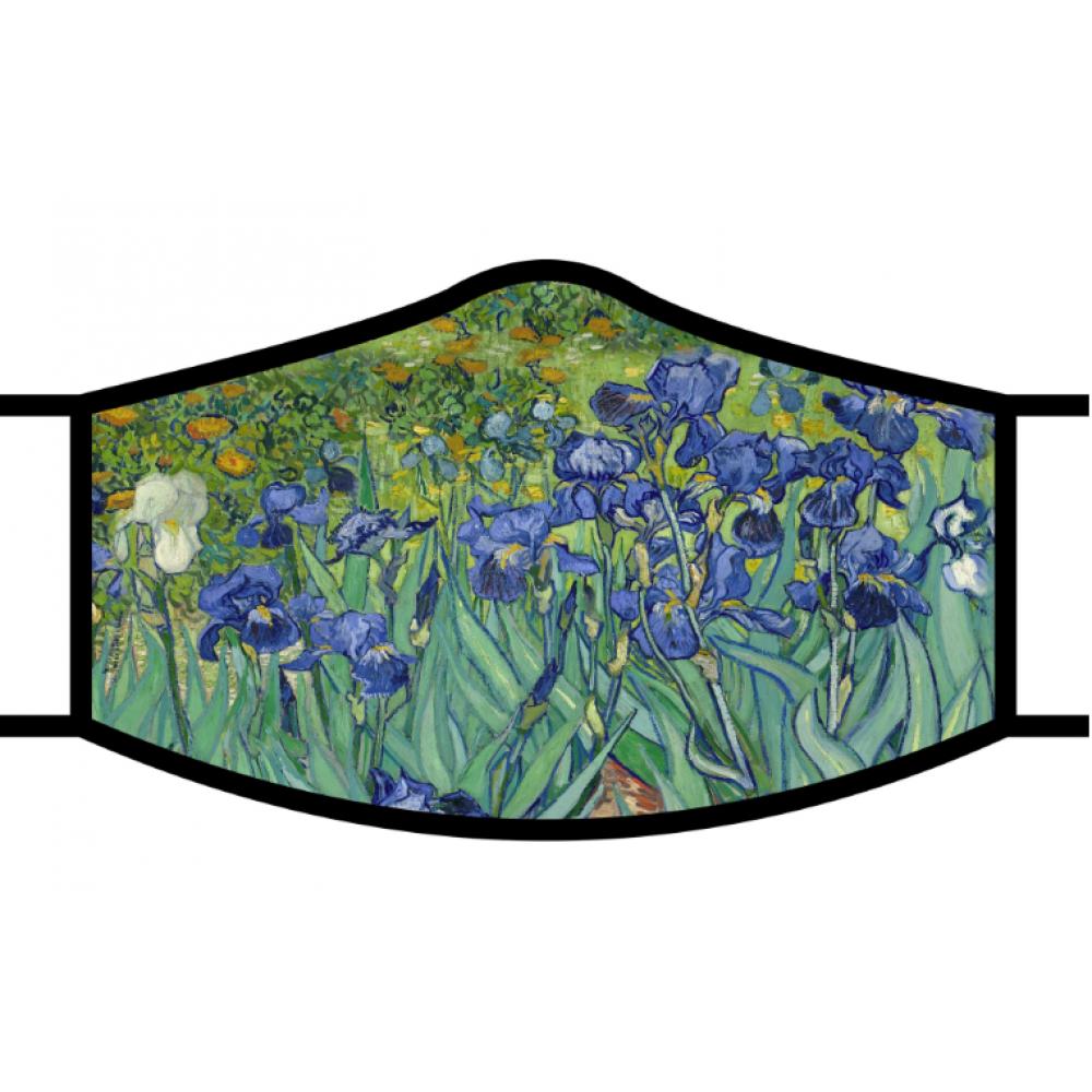 Face Mask Van Gogh - Irises