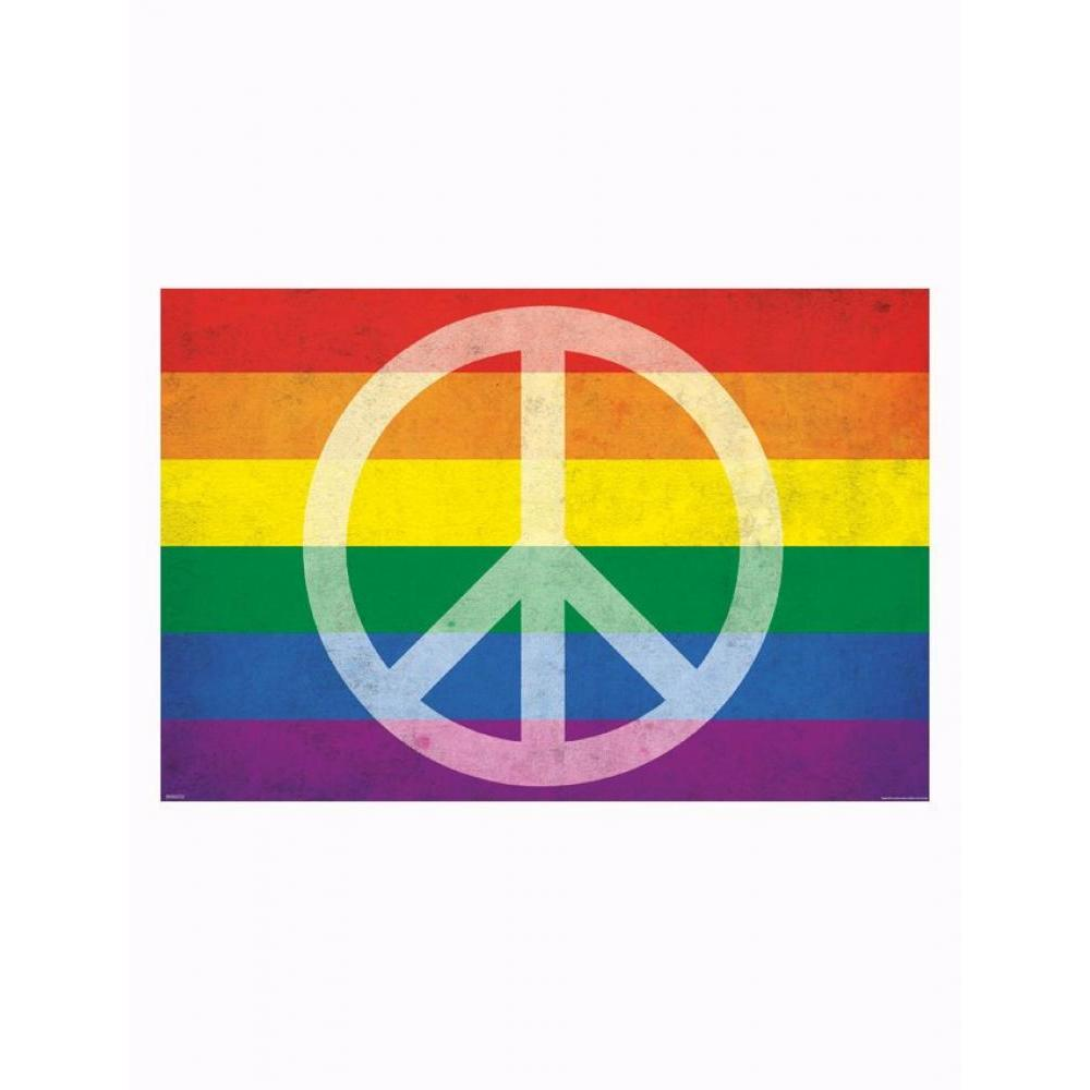Pride and Peace 24inx36in Poster