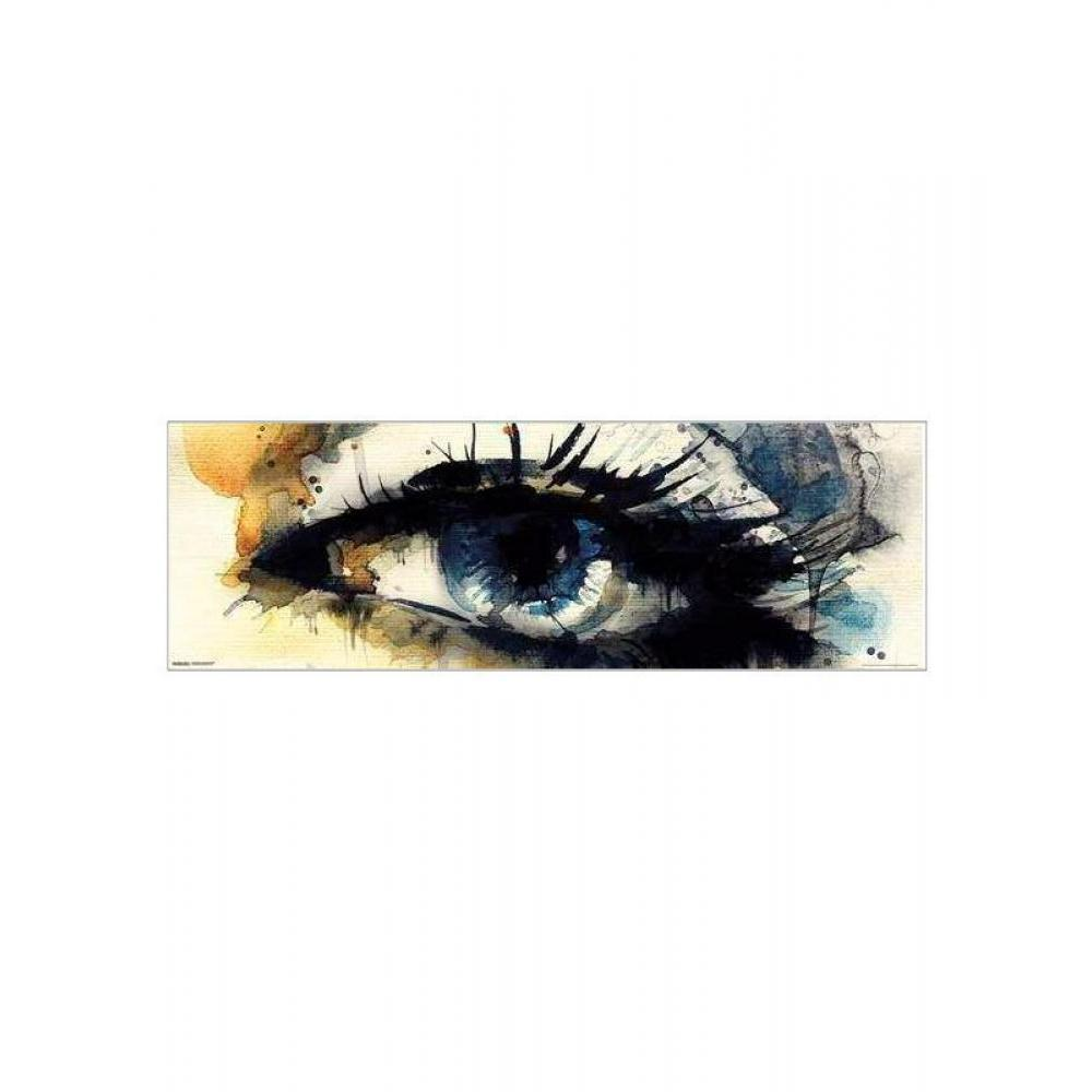 Watercolor Eye 12inx36in Poster