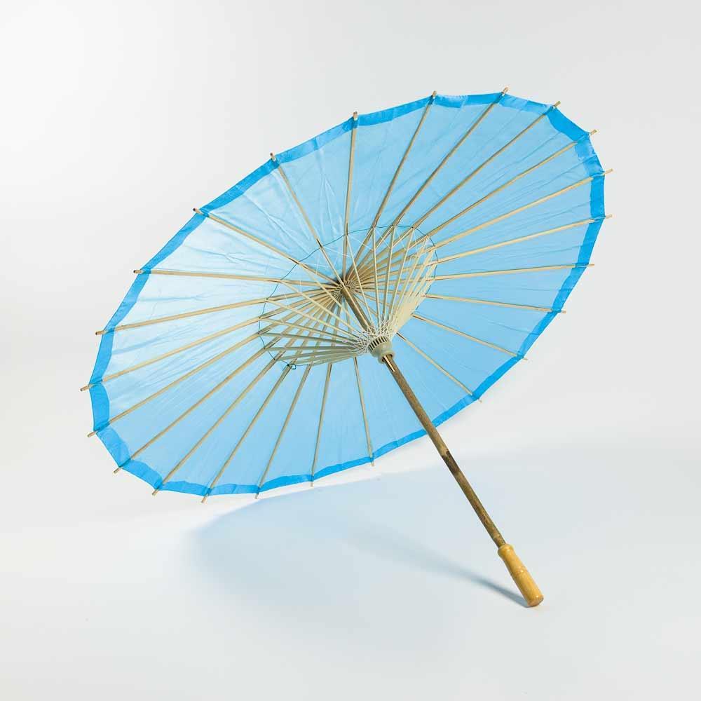 32in Parasol Sky Blue Nylon