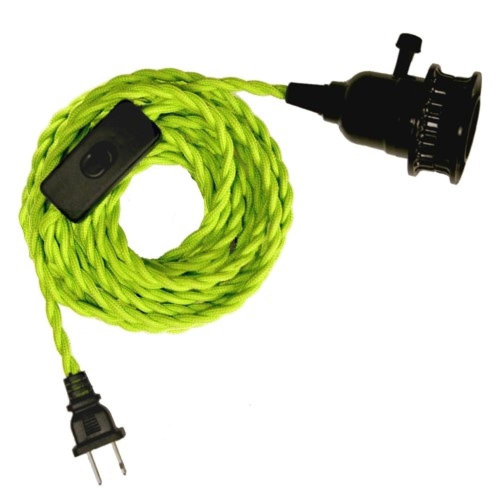 Cord Kit Pippin Lime Fabric Twist