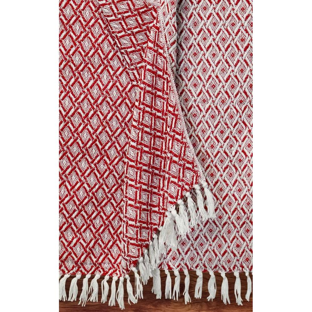Throw Blanket Cotton Sentinel Red Rocks