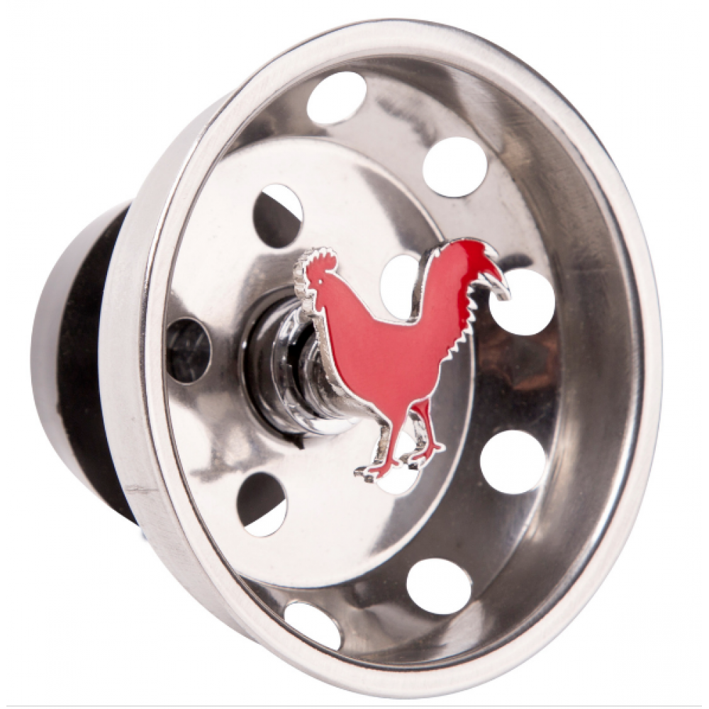 Rooster Sink Drainer