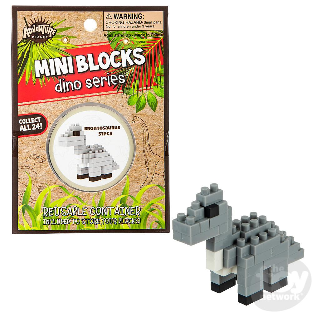 Building Kit Dino Mini Blocks Brontosaurus