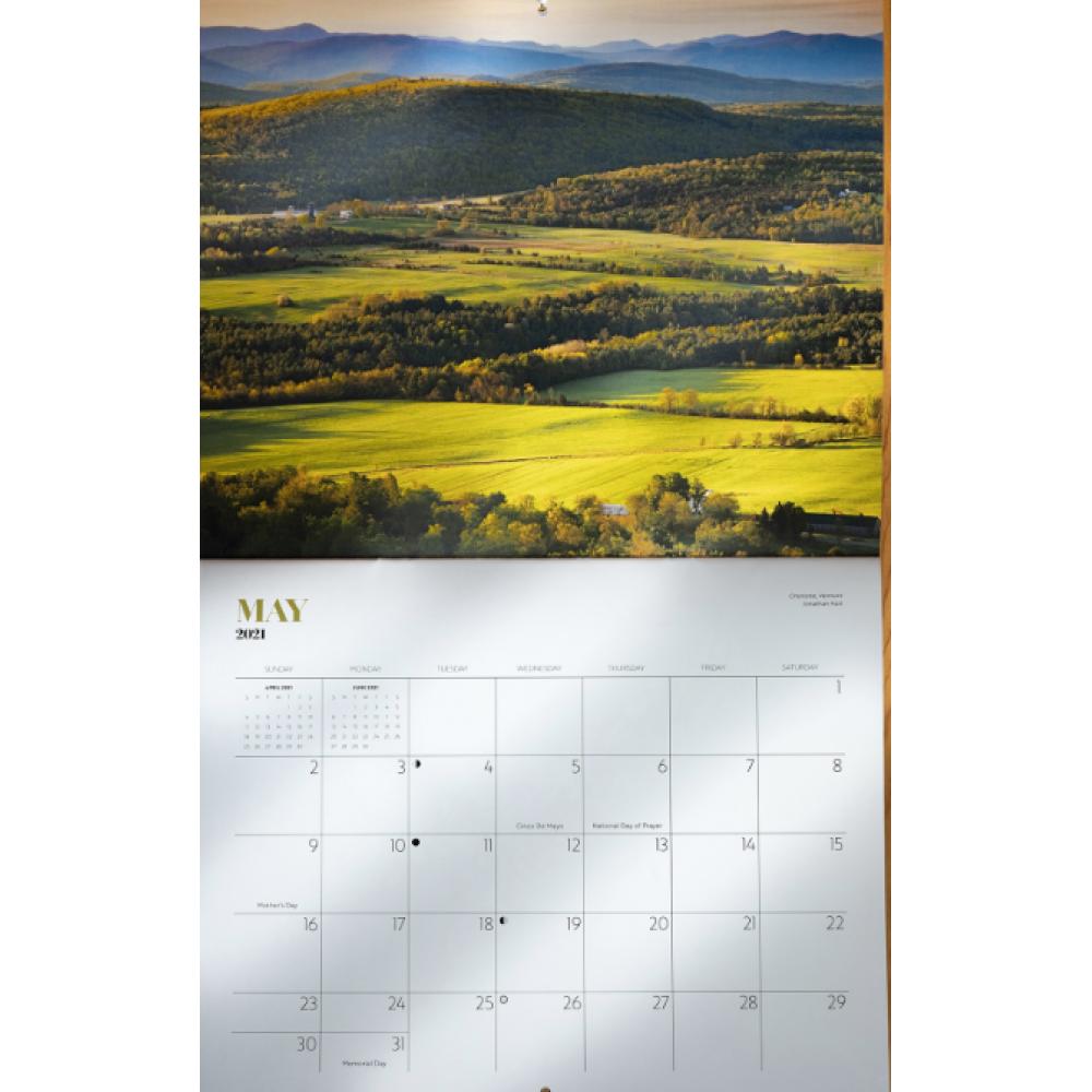Vermont 12-Month Calendar
