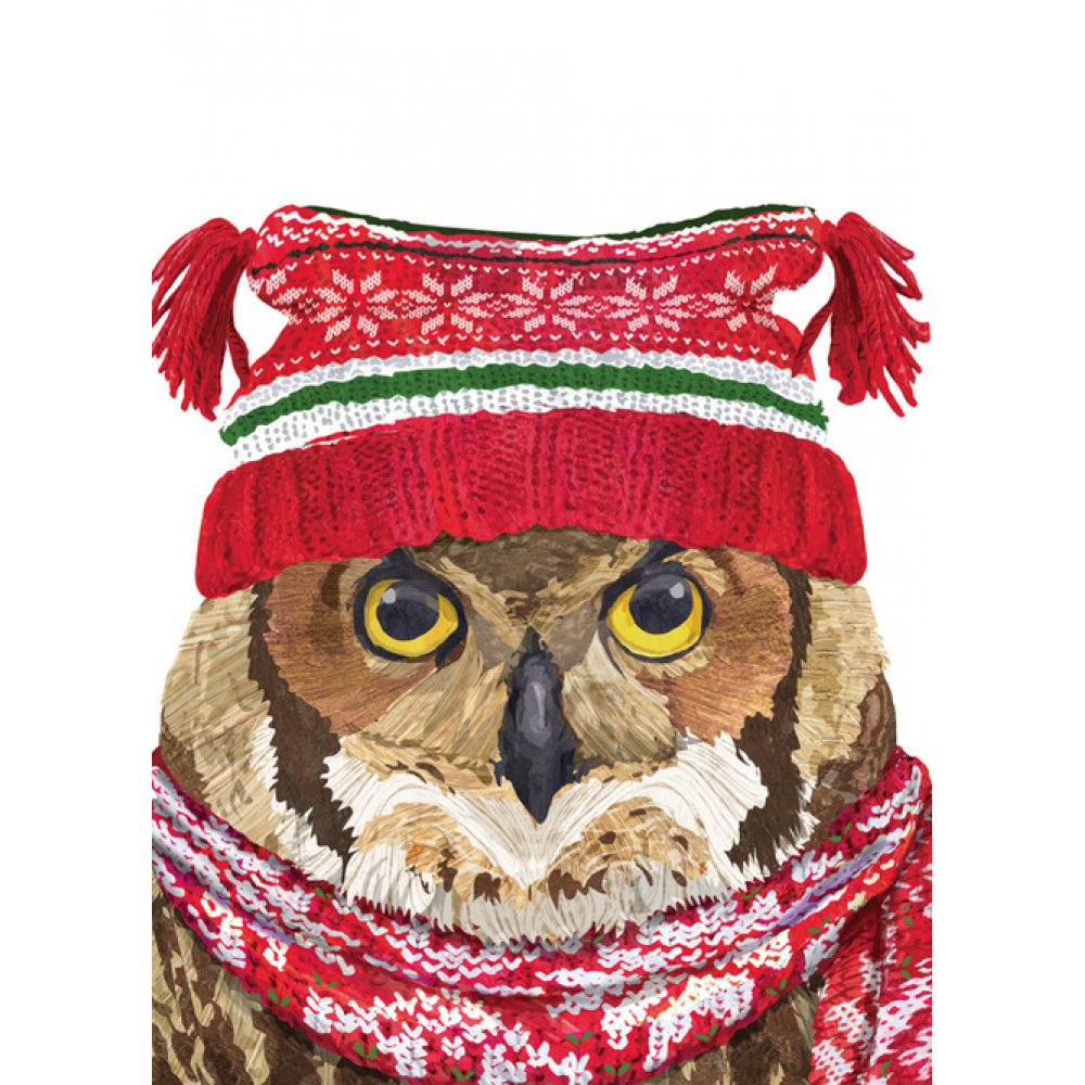 Holiday - Winter Owl