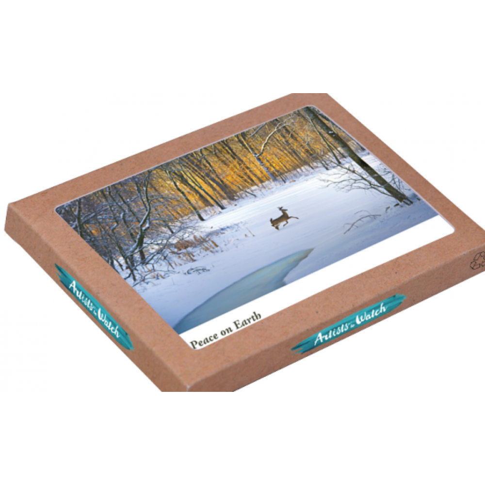 Holiday Boxed Card - White Tailed Deer