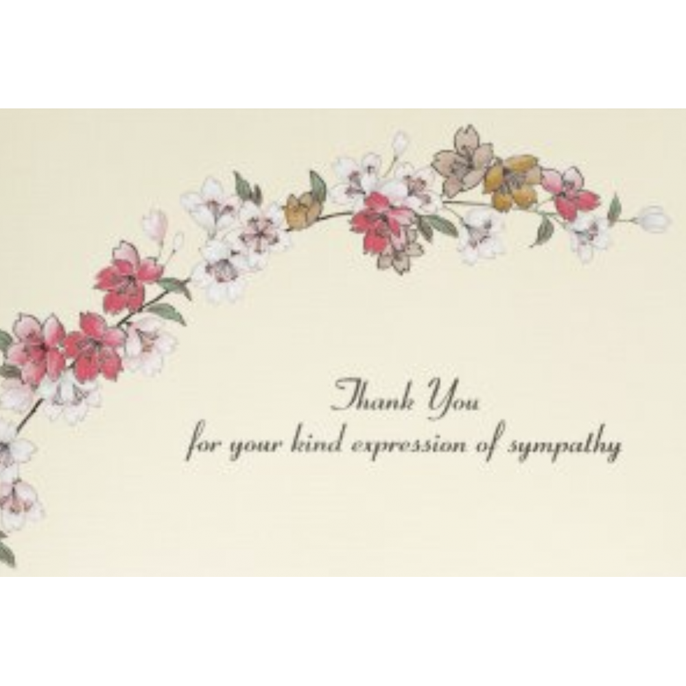 Boxed Thank You - Sympathy Floral