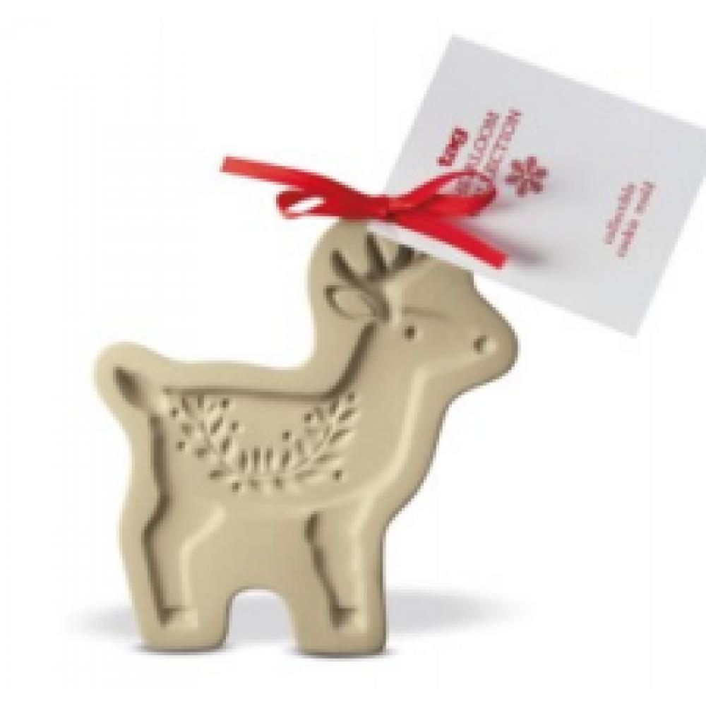 Heirloom Cookie Mold - Reindeer