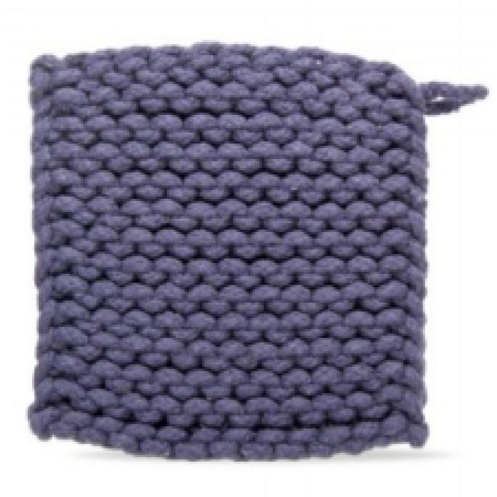 Crochet Trivet - Midnight Blue