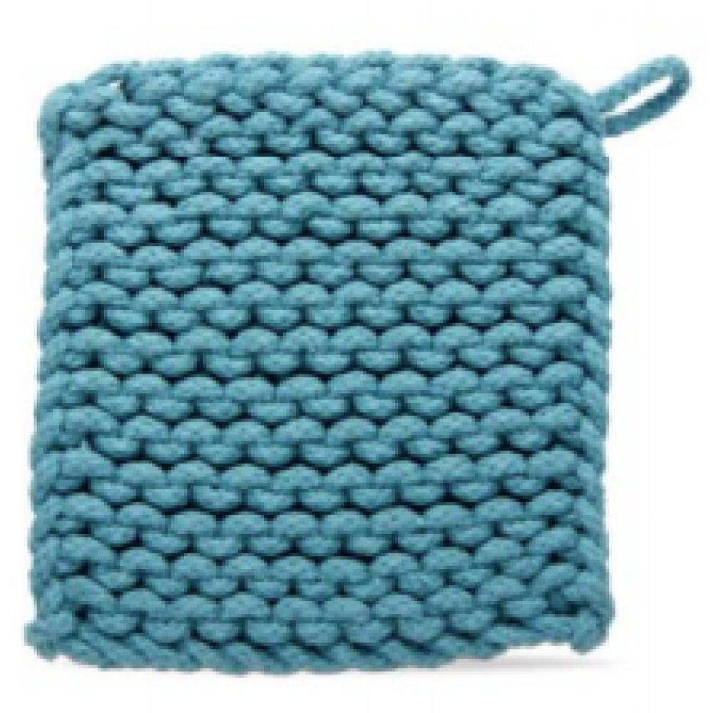 Crochet Trivet - Turquoise