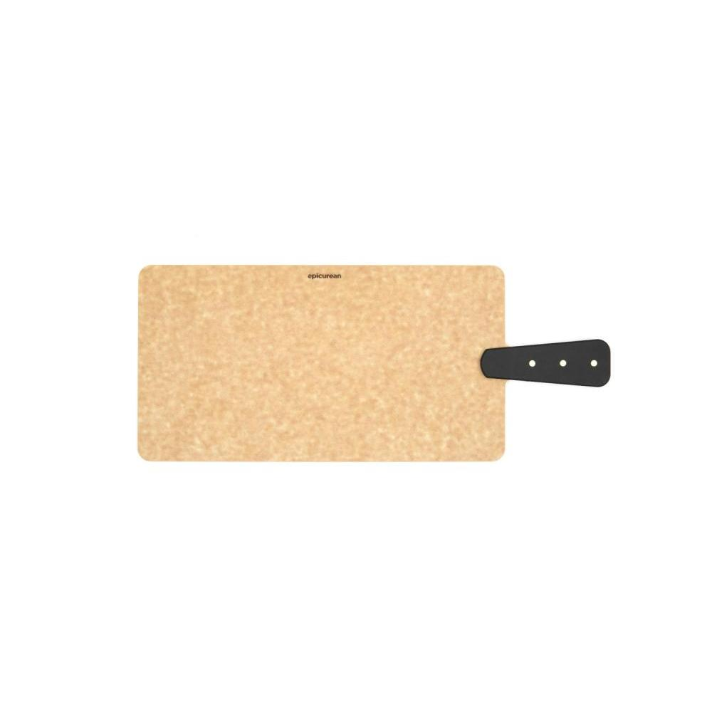 Cutting Board Riveted Handle Handy 14in X 7.5in