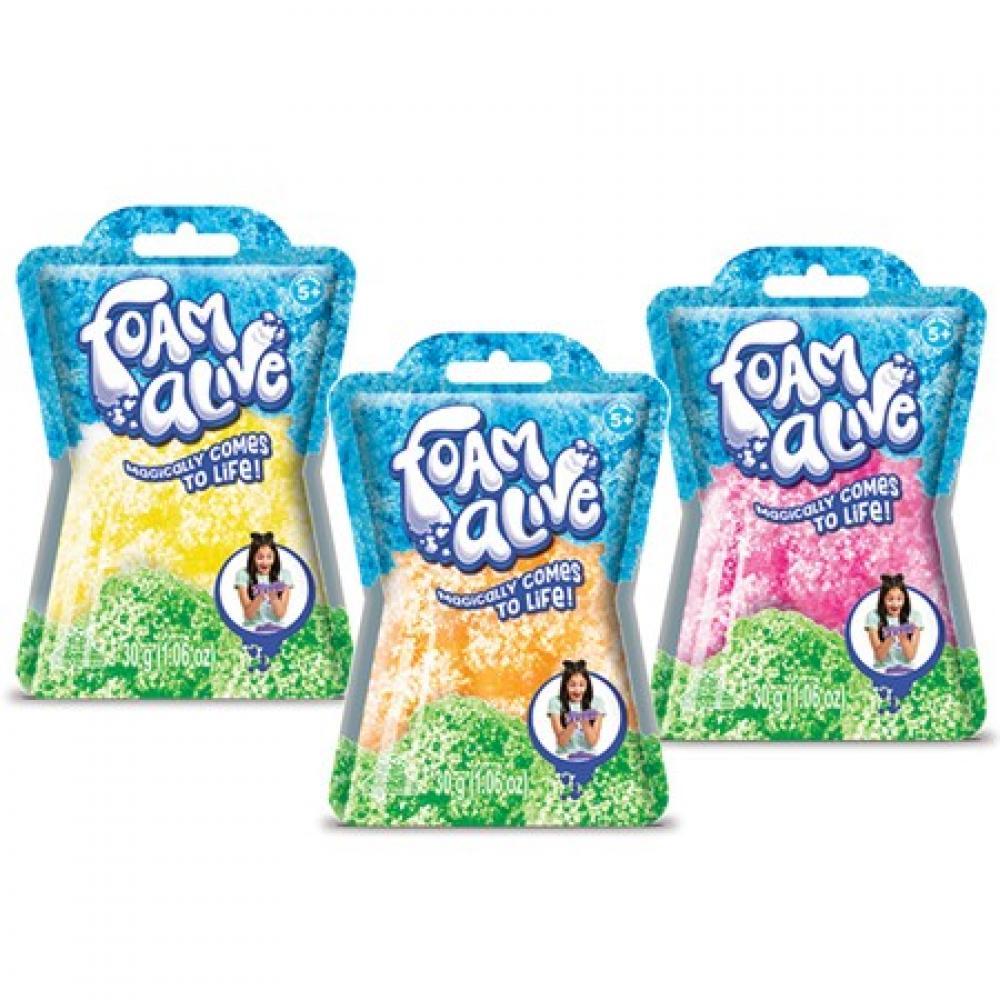 Foam Alive Foil Bag 30G