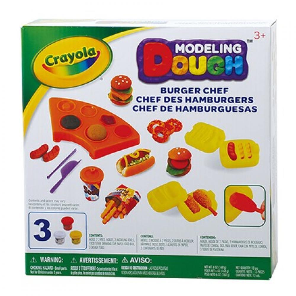 Crayola Burger Chef Playset