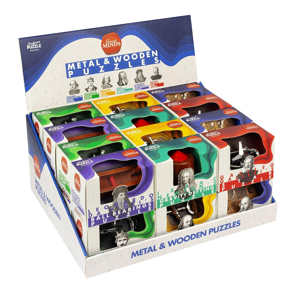 Great Minds Metal & Wooden Puzzles