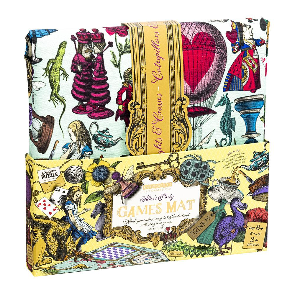 Alices in Wonderland Party Games Mat