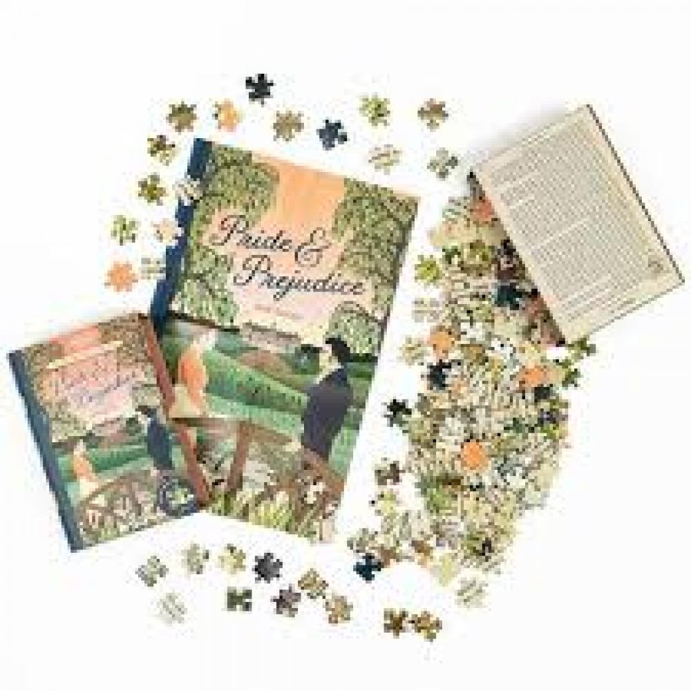 Jigsaw Puzzle Library 252 Piece Double Sided Pride and Prejudice
