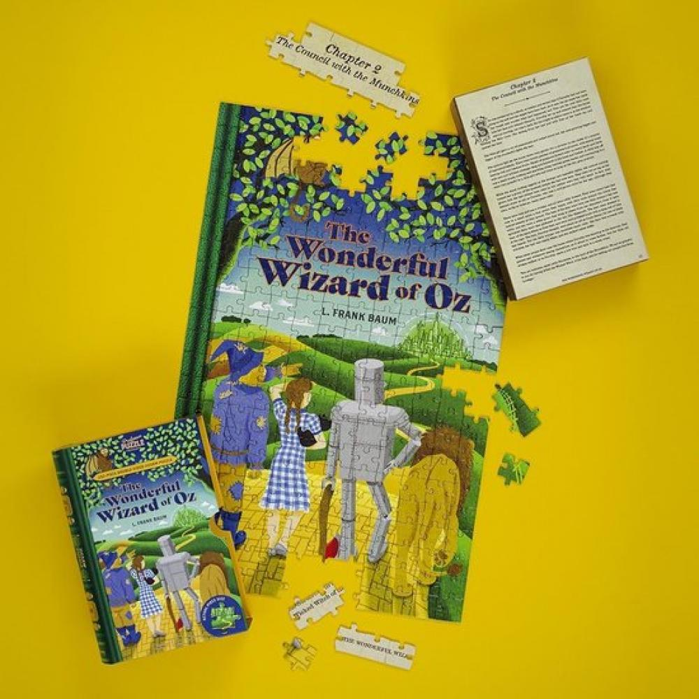 Jigsaw Puzzle Library 252 Piece Double Sided Wonderful Wizard of Oz