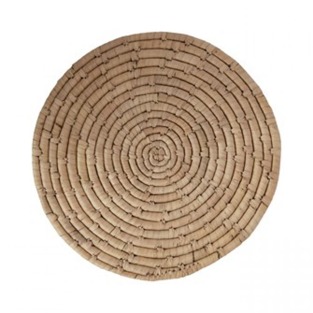Placemat - Round Hand Woven Grass