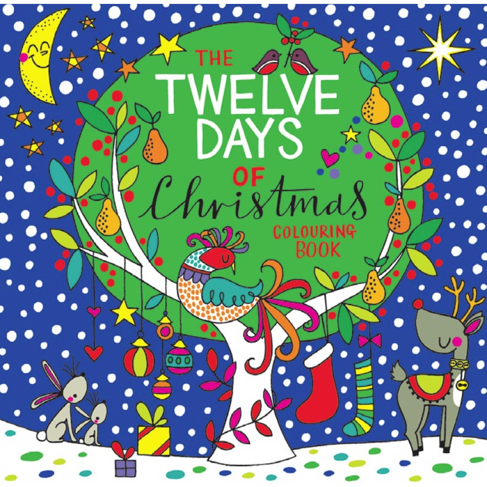 Coloring Book - 12 Days of Xmas