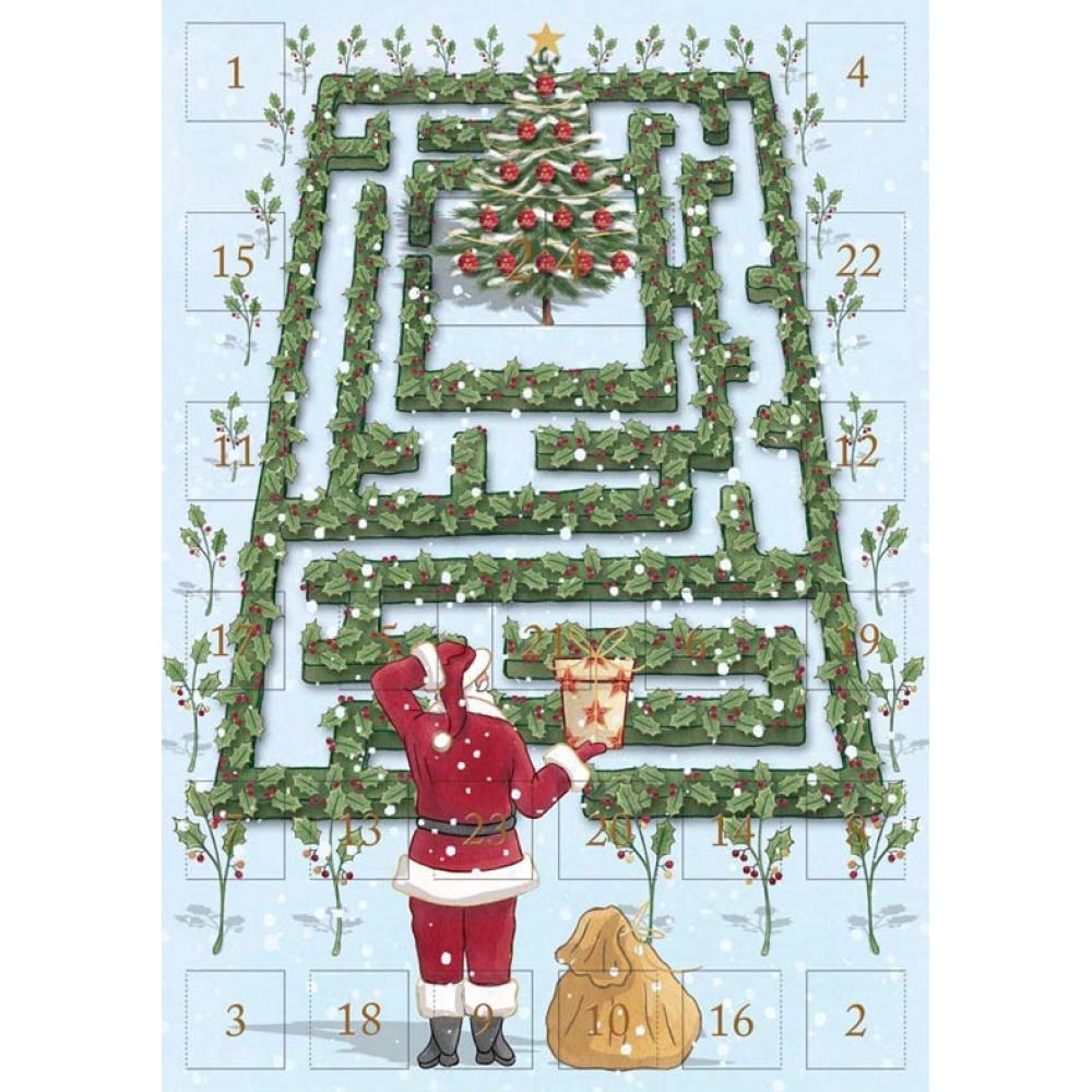 Xmas Card - Advent Garden Maze
