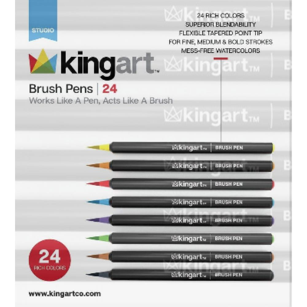 Brush Pen Markers 24 pc