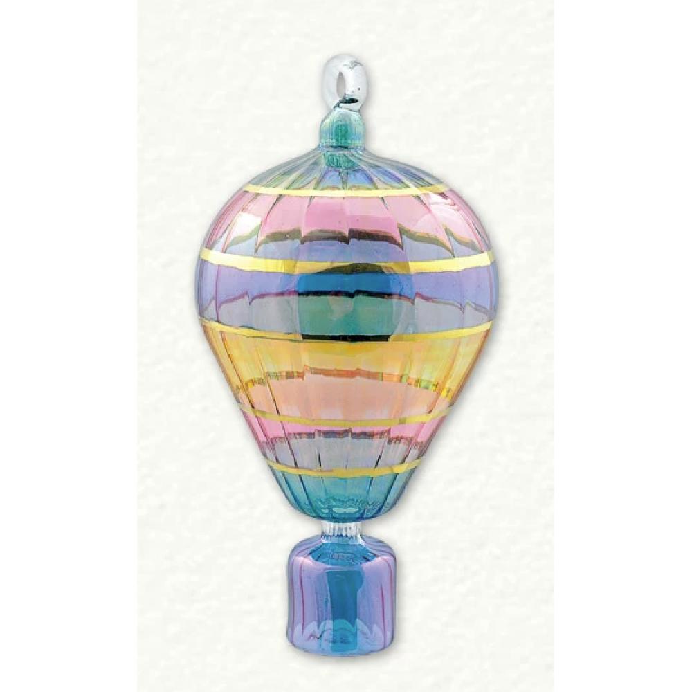 Ornament - Hot Air Balloon Swirl Small