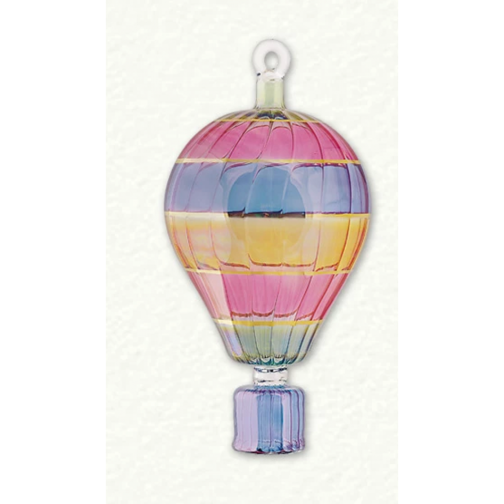 Ornament - Jumbo Hot Air Balloon Mulitcolor