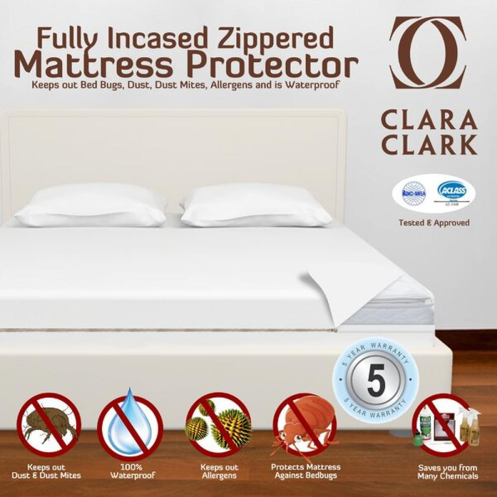 Mattress Protector Fully Encased Zipper TWIN